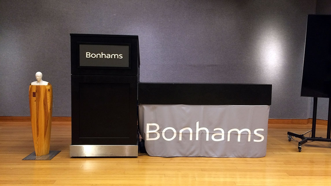 Un'opera iconista da Bonhams New York